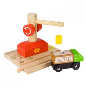 BIGJIGS CRANE RAIL AND LORRY