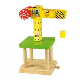 BIGJIGS BIG YELLOW CRANE