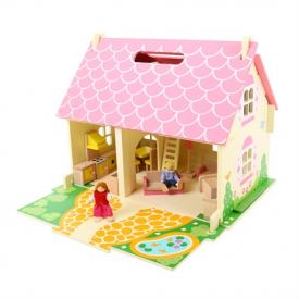 BIGJIGS BLOSSOM COTTAGE dollhouse