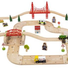 BIGJIGS RURAL RAIL AND ROAD SET